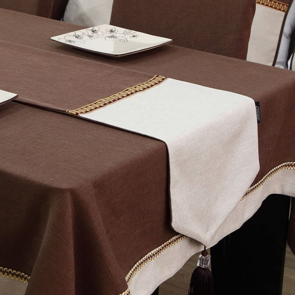 Chinese table Super Max 50% OFF intense SALE flag insulated classical color tea flag-Coffee 32x