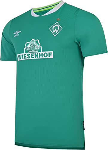 Umbro Werder BreHommes Home Football Shirt 2019 20-Medium