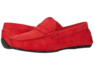 Massimo Matteo Penny Keeper (Flame Red Nubuck) Women