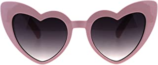 Girls Kid Size Heart Shape Lolita Valentine Love Sunglasses