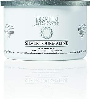 Satin Smooth Silver Tourmaline Hair Removal Wax 14oz. 14oz.