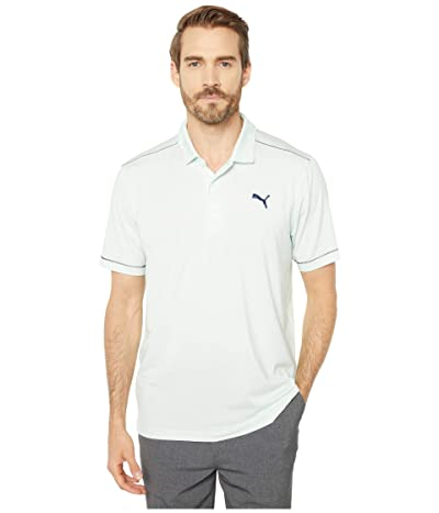 PUMA Golf Rancho Polo (Mist Green Heather) Men
