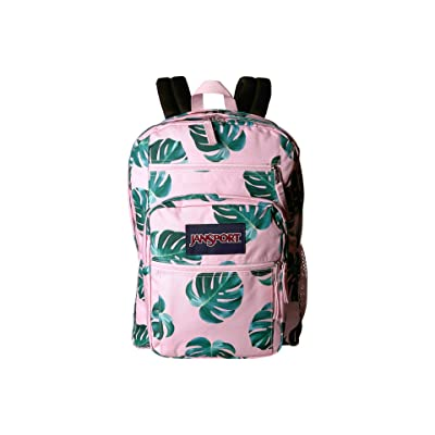 JanSport Big Student (Monstera Leaves) Backpack Bags
