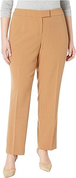 Plus Size Crepe Slim Bowie Pants