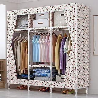 Armoire à vêtements Armoire portable Organisateur de rangement de vêtements durables Étagère de rangement en tissu non tis...