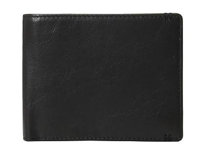 Lodis Accessories Topanga RFID Classic Billfold w/ ID Window (Black) Bi-fold Wallet