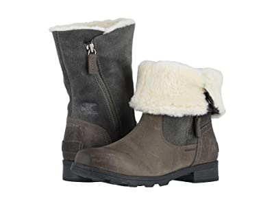SOREL Emelietm Fold-Over (Quarry) Women