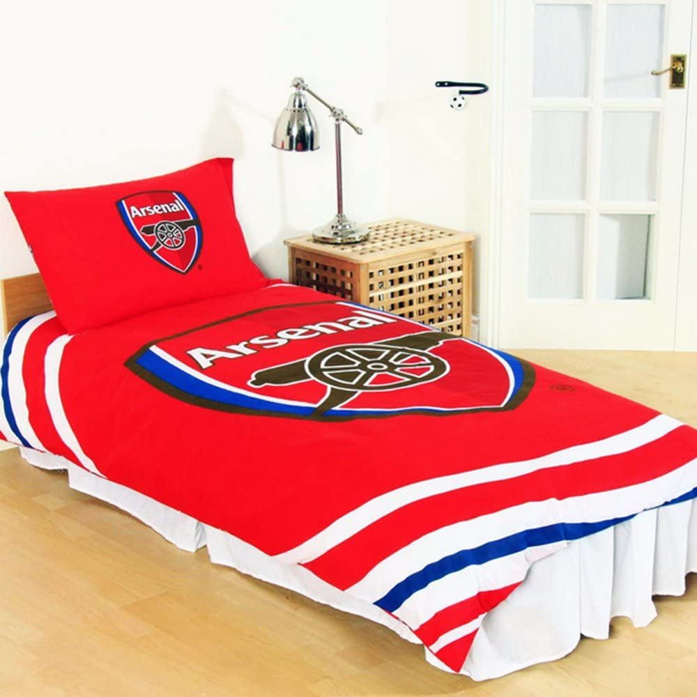 Officia Arsenal F.C. 'Pulse' Reversible Cover Quilt Fixed price for sale Duvet Phoenix Mall Double