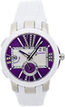 Ulysse Nardin Executive Dual Time Mechanical (Automatic) Purple Dial Womens Watch 243-10/30-07 (Certified Pre-Owned)