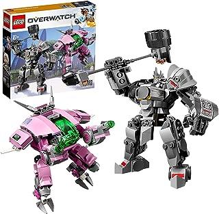 レゴ(LEGO) オーバーウォッチ D.Va & ラインハルト 75973