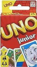 Mattel Games 52456 UNO Junior Kartenspiel für Kinder, geeignet für 2 - 4 Spieler, Spieldauer ca. 15 Minuten, ab 3 Jahren