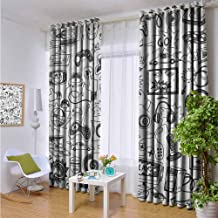 KAKKSW Living Room/Bedroom Window Curtains,Video Games,Curtains for Living Room,W84x84L