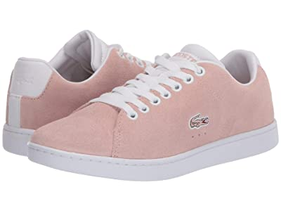 Lacoste Carnaby Evo 120 5 (Natural/White) Women