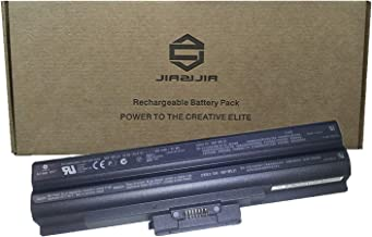 JIAZIJIA VGP-BPL21 Laptop Battery Replacement for Sony Vaio VGN-AW VGN-CS VGN-FW VGN-NS VPC-F VPC-S Series Notebook Black 10.8V 81Wh 7500mAh 9-Cell