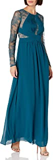BCBGMAXAZRIA womens Janette Woven Evening Dress Dress