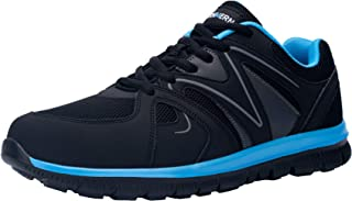 LARNMERN Zapatos de Mujer Seguridad de Acero Ligeras Calzado de Trabajo para Comodas Zapatos de Industria y Construcción 3...