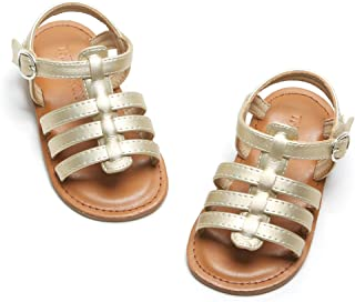 Girl's Toddler/Little Kid Classic Sandals Flat Summer Dress Shoes
