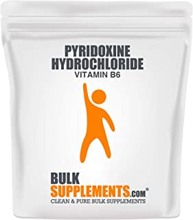 Sponsored Ad - BulkSupplements Vitamin B6 (Pyridoxine HCL) Powder (100 Grams)