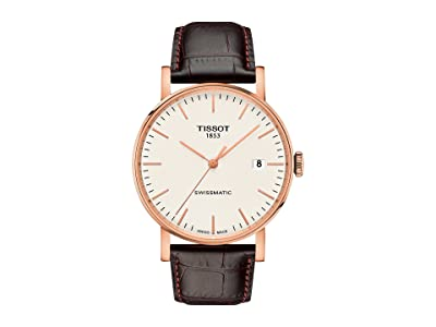 Tissot Everytime Swissmatic T1094073603100 (Silver/Brown) Watches