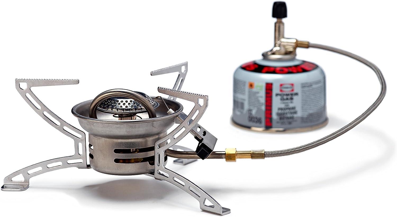 Hervidor Primus EasyFuel II DuO – Silver – One Size – Práctico versátil Hornillo de gas