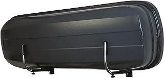 LANCO Automotive Wandhalter Space Pro , LI 1301 , Zwei Stück Stabile Ausführung , Einfache Montage , Platzsparend Einklappbar , Made in EU, Chrom/Schwarz, Set of 2