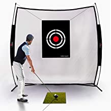 GALILEO Golf Practice Net Driving Range Golf Hitting Nets for Indoor Outdoor with Golf..