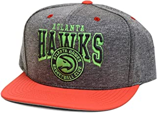 Mitchell & Ness Atlanta Hawks NuBuck 2 Tone Snapback