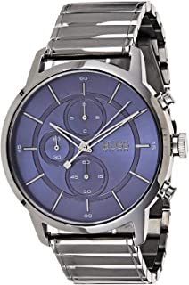 Hugo Boss Architectural Men's Blue Dial Stainless Steel Watch - 1513574