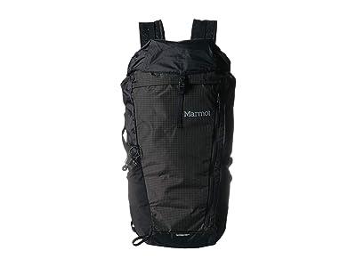 Marmot Kompressor Plus (Black/Slate Grey) Backpack Bags
