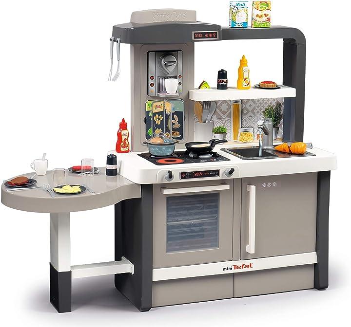 Cucina gioco per bambini smoby - tefal cucina evolutive 312300