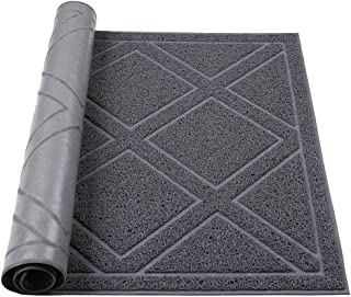 """Darkyazi Large Indoor/Outdoor Doormat 23.6"""" x 35.4"""" Plaid Design Non Slip Heavy Duty Front Entrance Door Mat Rug, Outside ..."""