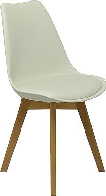 Piqueras & Crespo Pack 4 Chairs Don Rodrigo Sillería, White, Standard