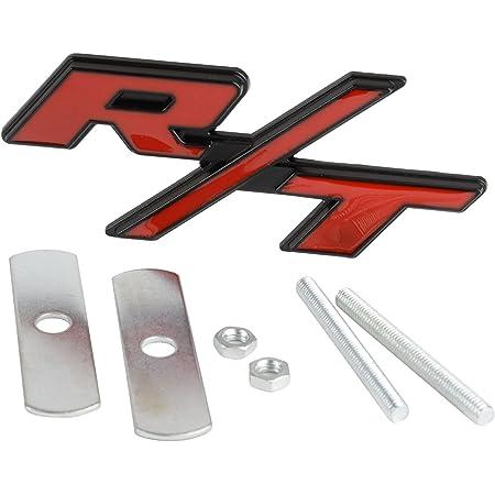Kühlergrillemblem R T Emblem Kühlergrill Grill Fender Rt Rot Auto