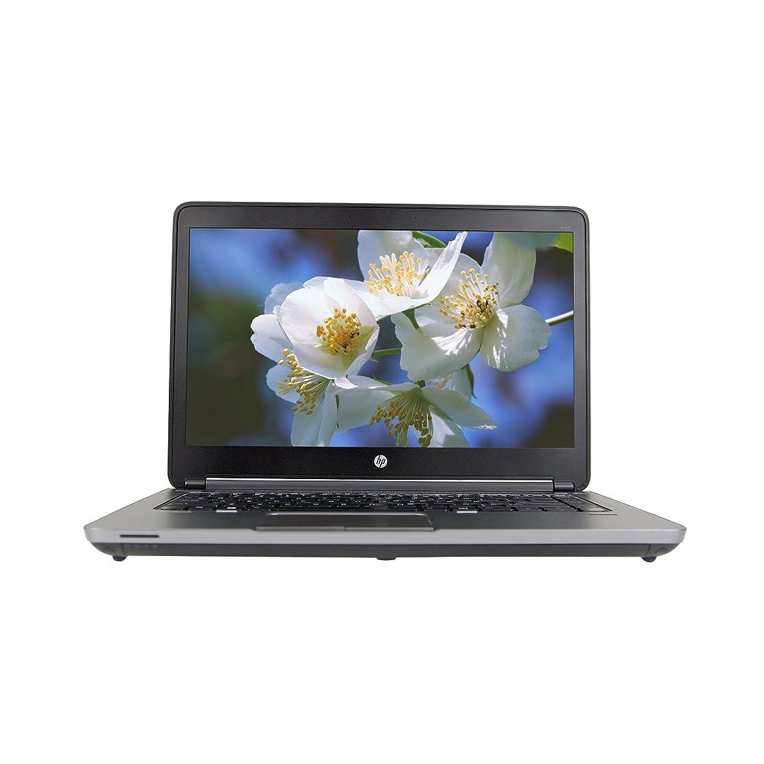 HP ProBook 640 G1 14in Laptop, Core i5-4300M 2.6GHz, 4GB Ram, 256GB SSD, Windows 10 Pro 64bit (Renewed)