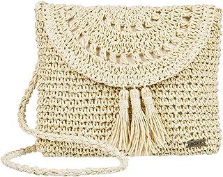 Roxy Say Aloha Straw Shoulder Bag