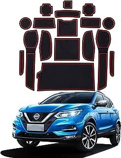 YEE PIN Tapis antid/érapant pour Porte de Voiture Compatible avec Hyundai Kona 2018 2019