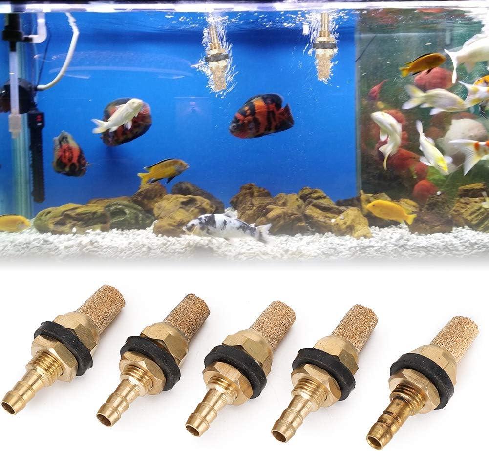 Sandstone Gold Aquarium Fish Tanks Large-scale sale Stones Max 59% OFF Increa 5pcs Bubble Set