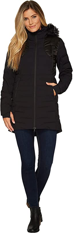 Spyder - Falline Long Faux Fur Down Jacket