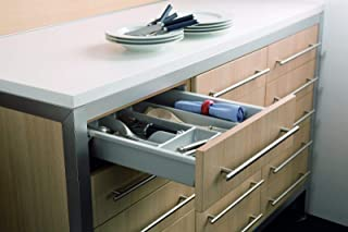 Indaux - Kit Completo de cajón de ABS Lavable 100% – Multiusos – Cocina, Oficina, Garaje