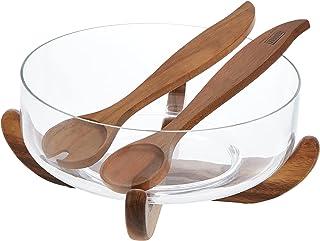 Billi Wooden Jumbo Salad Bowl Set ACA-300