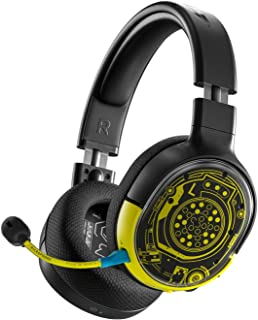 SteelSeries Arctis 1 Wireless - Auriculares inalámbricos para juegos - PC / PS4 / Nintendo Switch / Android - Cyberpunk 2077 Netrunner Edition