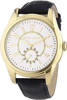 Pierre Cardin Men's Quartz Watch Comte PC104241F03 with Leather Strap