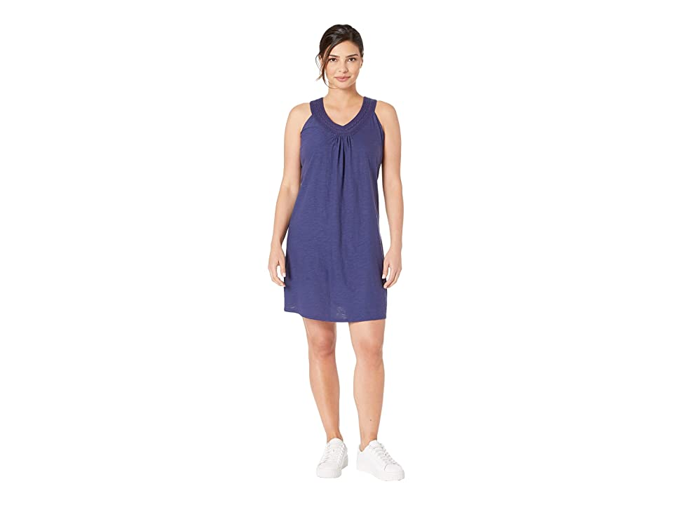 Tommy Bahama Arden Embroidered Sleeveless Sundress (Island Navy) Women