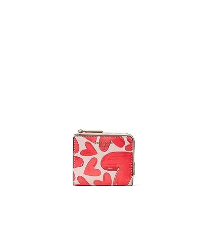 Kate Spade New York Spencer Ever Fallen Small Bifold Wallet (Tutu Pink) Wallet