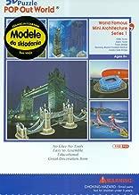 3D紙パズルPOPOUTWORLD 世界の有名建築ミニシリーズ1