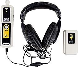 allsun Ultrasonic Leak Detector & Transmitter Air Water Dust Leak Pressure Headphone Accessory Kit LED Indication