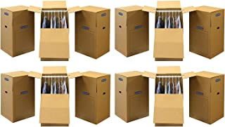 Bankers Box SmoothMove Wardrobe Moving Boxes, Tall, 24 x 24 x 40 Inches, (7711001) (4 X Pack of 3)