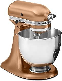 KitchenAid RRK150CP  5 Qt. Artisan Series Stand Mixer - Satin Copper (Renewed)