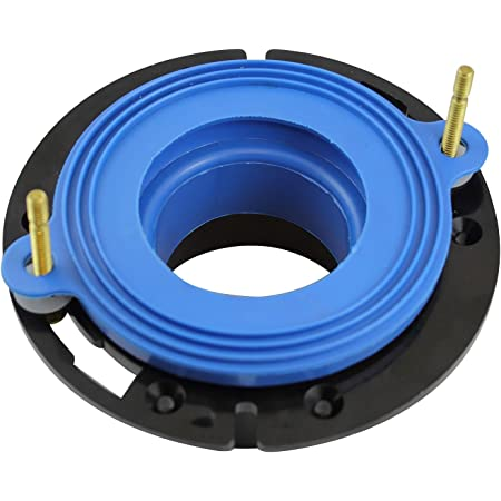Fluidmaster 7530P8 Universal Better Than Wax Toilet Seal, Wax-Free Toilet Bowl Gasket Fits Any Drain
