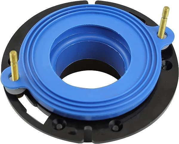 Fluidmaster 7530P8 Universal Better Than Wax Toilet Seal Wax Free Toilet Bowl Gasket